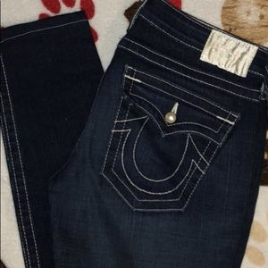 100% Authentic True Religion Jeans w/Pearl Accents